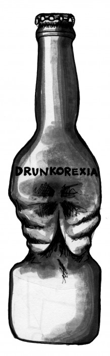 'Drunkorexia' harms health
