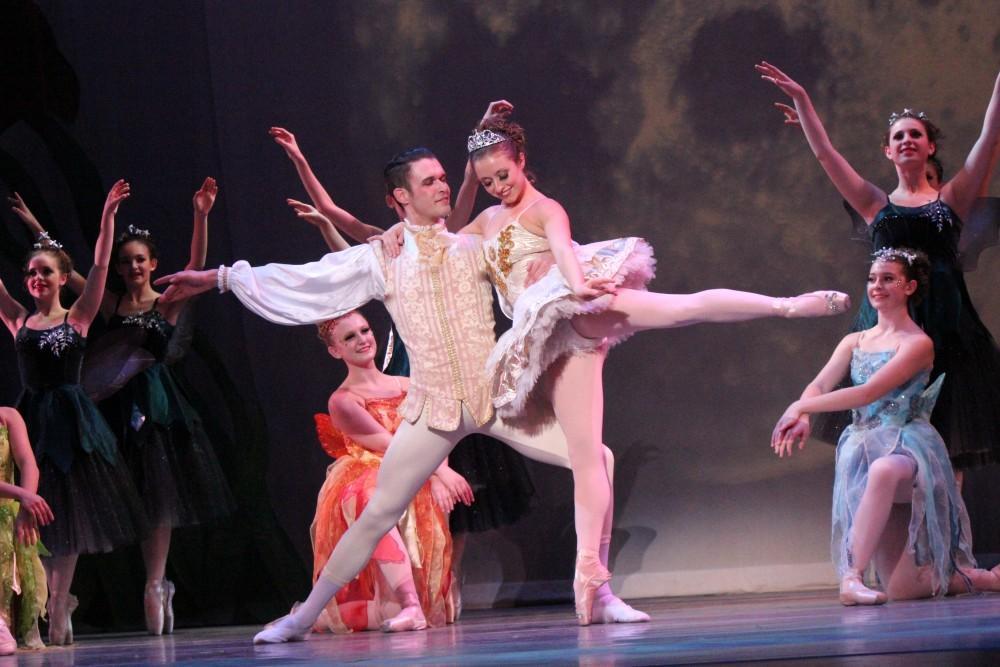 Dancers captivate audiences in Cinderella