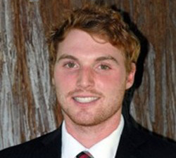 Sophomore golfer Will Flitcroft. Photograph courtesy of Chico State.