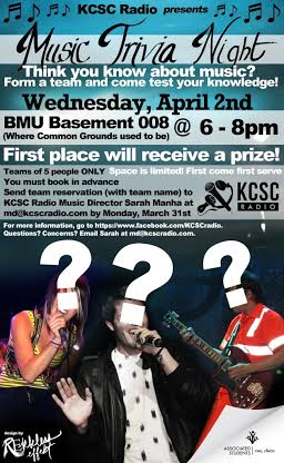 Trivia night will test students music knowledge
