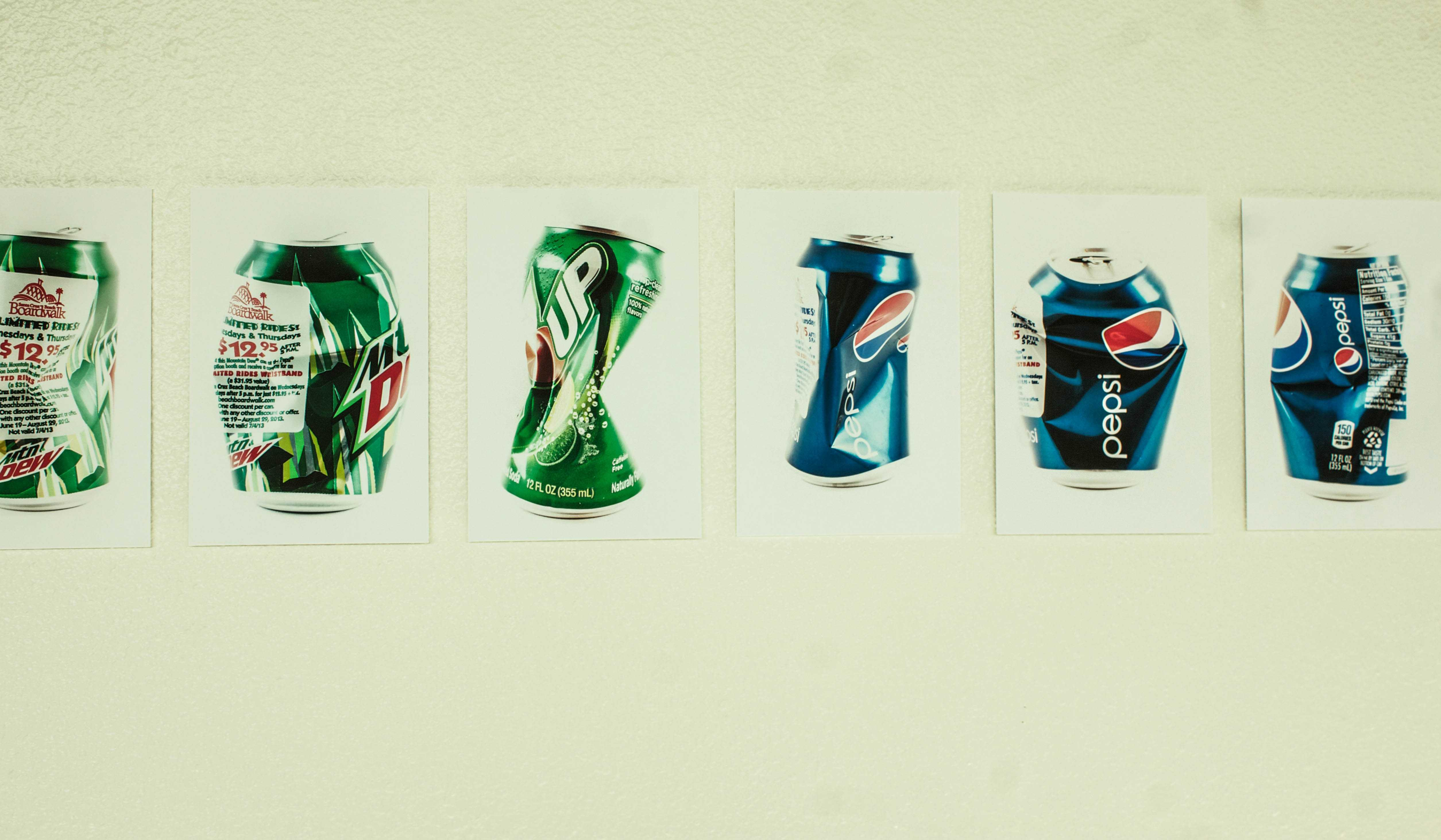 The Cans Make Us Face Consumption