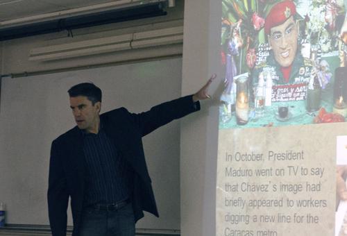 Lecture explores Venezuela's future