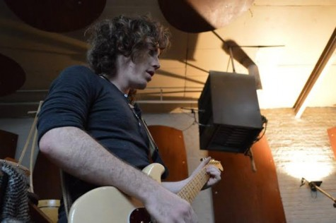 Ben Fillion, performs vocals, guitars, lyrics and saxophones for The Birds of Prey. Photo Courtesy of Ben Fillion.