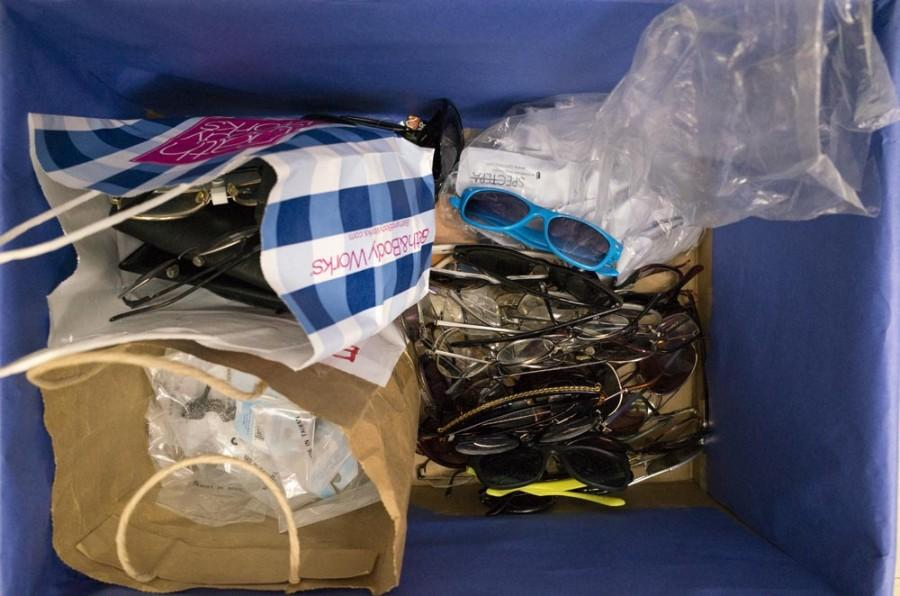 Eyeglasses donated for Vision for Hope give sight to less fortunate people around the world. Photo credit: Matthew Vacca