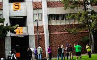 Butte Hall banners call for divestment