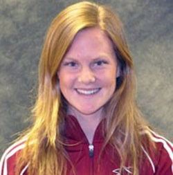 Chico State track and field athlete Olivia Watt. Photo courtesy of Chico State.