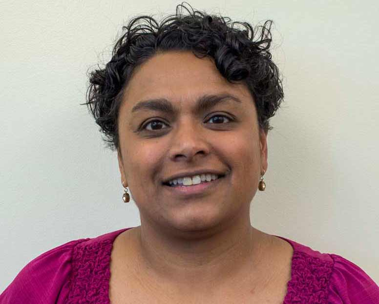 Juni Banerjee-Stevens, counselor at the Counseling and Wellness Center. Photo credit: Yessenia Funes