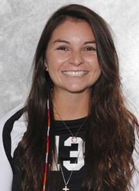 Chico State senior volleyball defensive specialist Emily Duran. Photo courtesy Chico Wildcats