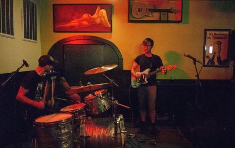 Local band surfs through killer set