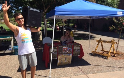 Tabling gauntlet promotes organizations