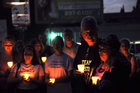 Dave and Sandra Chesterman mourn the loss of their daughter, Kristinia, one year after her death. Photo credit: Annie Paige