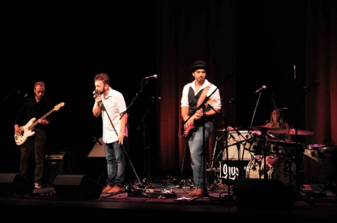 The LoLos, who performed at the Wildcat Welcome Concert earlier this semester, will be one of more than 11 local acts performing at A.S. Productions' Led Zeppelin IV concert Saturday, Sept. 13. Photo credit: Annie Paige