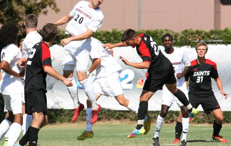 Men's soccer player returns from injury to lead team