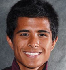 Chico State cross country runner Steven Martinez. Photo courtesy Chico Wildcats.