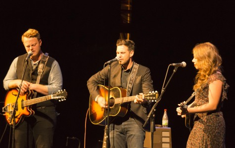 The Lone Bellow delivers riveting rhythms at Laxson Auditorium