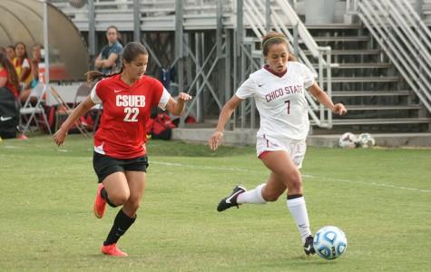 Women's soccer team wins in overtime