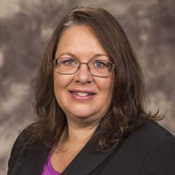 Karen Jones, department chair for plant, soil and agricultural systems at Southern Illinois University, is one of three candidates for the dean of agriculture. Photo courtesy of Karen Jones.