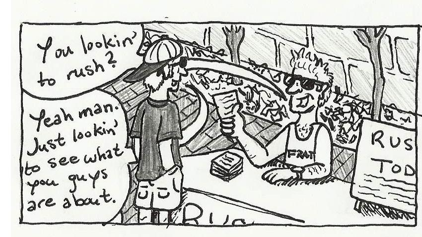 Comic Strip by Mickey Layson