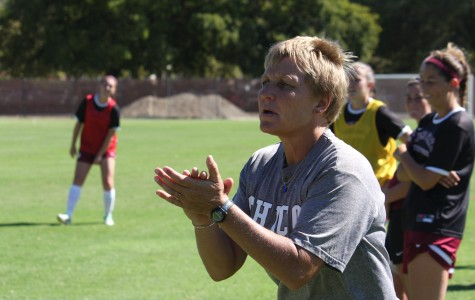 Women's soccer coach passes program's founder in wins