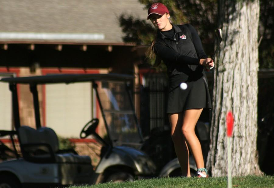 Dani O'Keefe shot a career best and broke the school record with lowest ever three-round score during the fall schedule. Photo credit: John Domogma