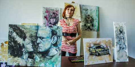 Media mixer features local artists of all trades under one roof