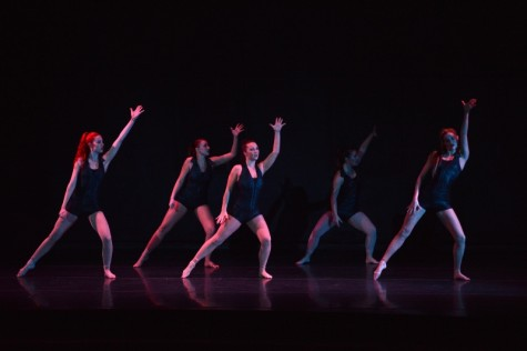Chico State's Momentum Dance student directors and choreographers perform to Santigold's