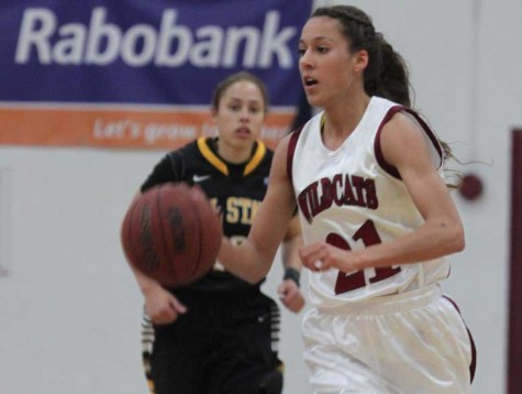 Courtney Hamilton, a former Chico State basketball player, has been nominated for the 2014 Orion Sports Wildcat of the Year. Orion file photo