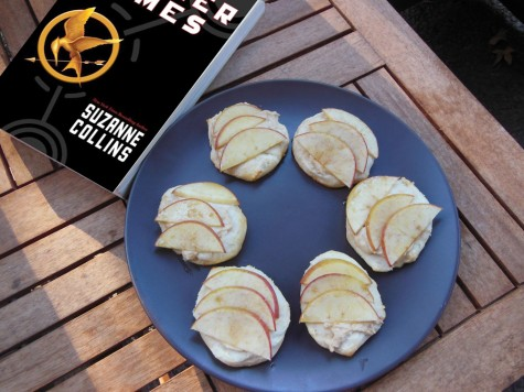 Readers, Digest: 'The Hunger Games' Goat Cheese Apple Tarts