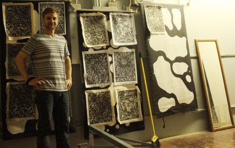 Q&A: The Orange Street Artist on screen printing, mysterious personas