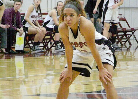 Hannah Womack focusing on Chico State's next move on Jan. 17. Photo credit: Catalina Friz