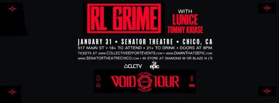 RL Grime plays the Senator Friday the 31st