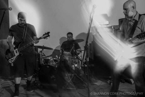 Bassist Greg Hopkins, drummer Daniel Taylor and guitarist Dan Greenfield perform at the PRF West music festival in Oakland last year. Photo courtesy of Shannon Corr Photography.