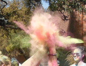Festival of love splashes color across Chico State