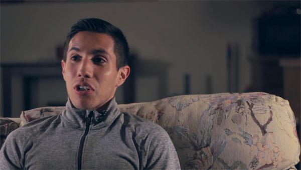 Alfonso Cisneros, Chico State graduate student, shares his thoughts on box office hit, McFarland USA. Photo credit: Karsten Kaufmann
