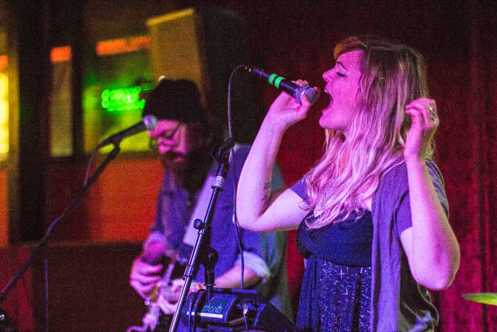 Sisterhoods, the readers' choice Cammies winner for best indie/experimental, performs at The Maltese Bar and Taproom. Photo credit: Trevor Ryan