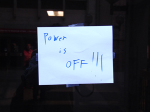 Power outage leaves Chico State in the Dark