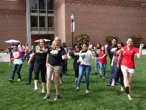 Potential students attend Choose Chico! to explore campus