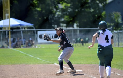 Softball team secures playoff berth through grit, determination
