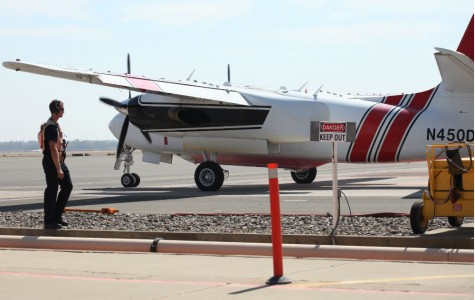 Chico airport used as an air base to fight wildfires
