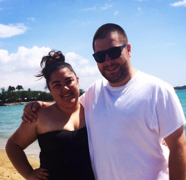Nicole DiLorenzo and Mike O'Hehir vacation together after finding each other on the mobile application, Tinder. Photo courtesy of Nicole DiLorenzo.