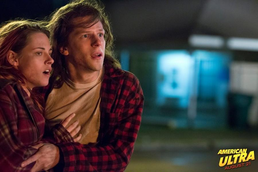 Kristen Stewart and Jesse Eisenberg are a couple trying to stay alive in
