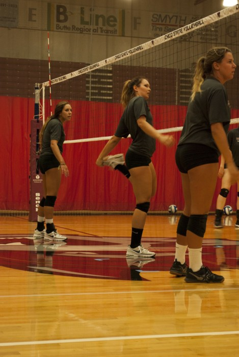 Passing the pack: Women's volleyball aims to bump up