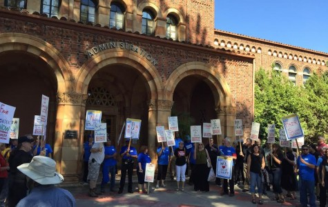 Faculty rally demands change