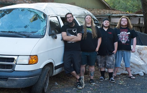 Aberrance members on crashing their van, new music and tour smells