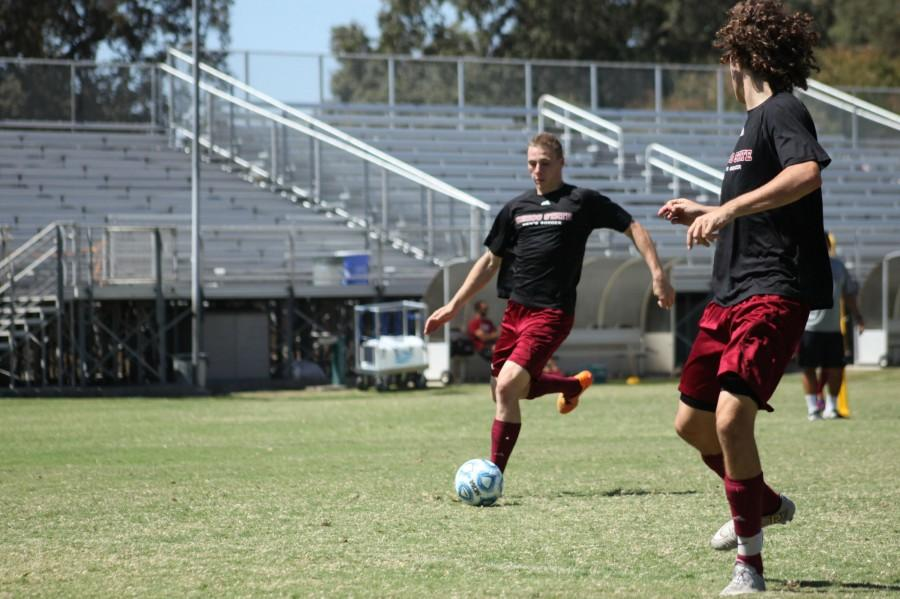 Matt Hurlow aims to break the Chico State record for total goals scored with his next goal which will be his 24th. Photo credit: John Domogma