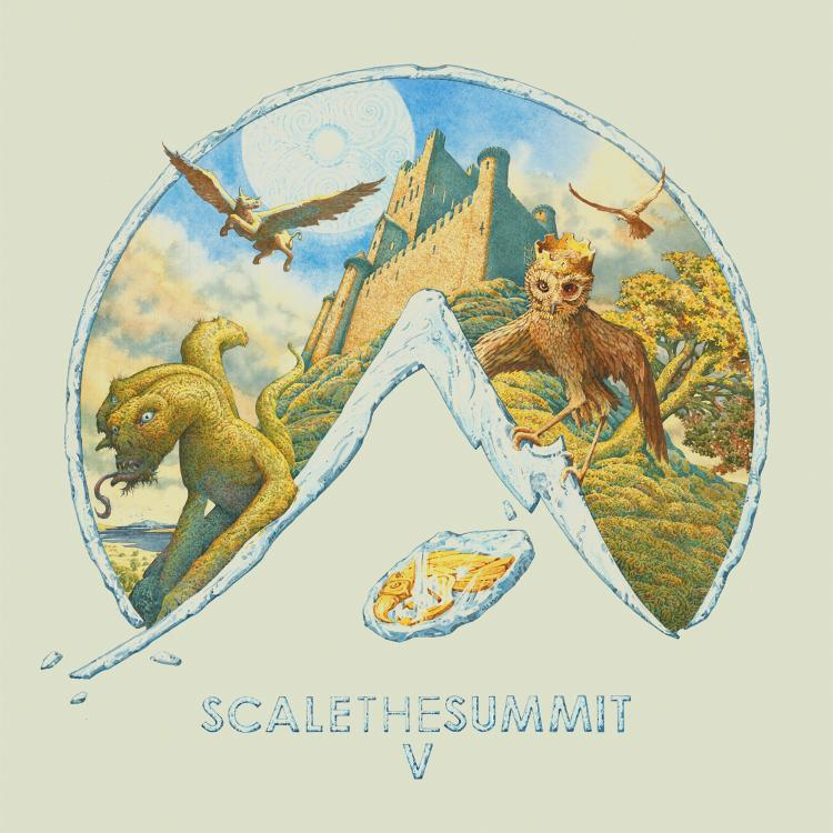 The album cover for Scale The Summit's latest release,
