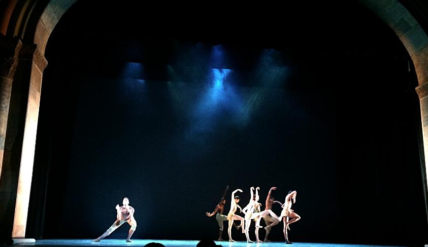 Dancers dazzle during Alonzo King's LINES ballet at Laxson Auditorium Photo credit: Dana Muensterman