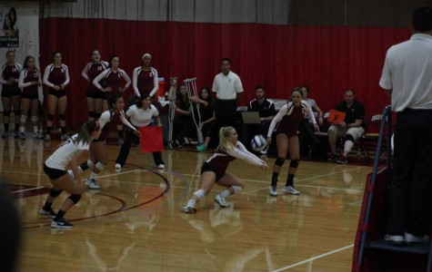Women's volleyball team beats Gators in thrilling fashion