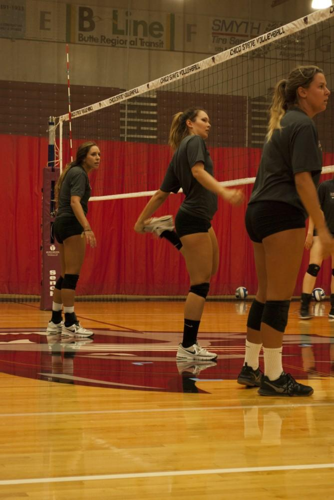 The Chico State Women's volleyball team won their first two games of the season against Dominican University of California and Holy Names University. Photo credit: Sam Barker