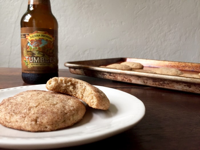 Cookies spiced with cinnamon and spiked with Sierra Nevada Tumbler. Photo credit: Grace Kerfoot